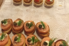 Cooked Canapé